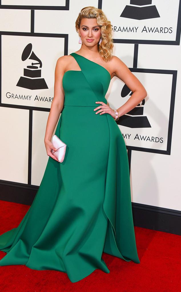 Tori Kelly in Gauri & Nainika - Grammys 2016 Red Carpet Winners And Losers