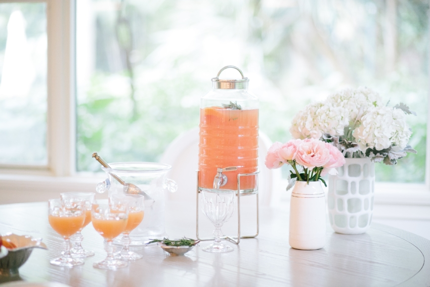 Prettiest Cocktials by the Fashionable Hostess - party punch