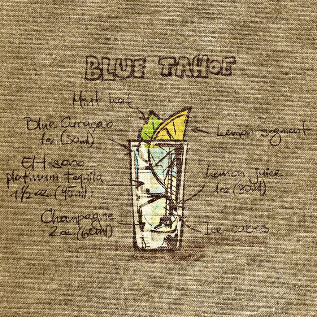 Blue Taho Drink