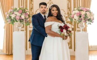 Tatiana and Guillermo DC Micro Wedding
