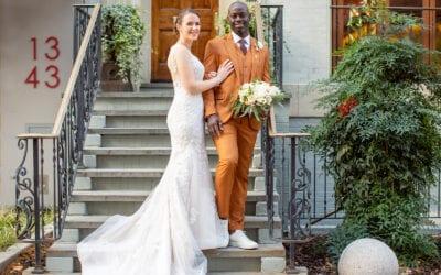 DC Micro Wedding at Elizabeth's on L St